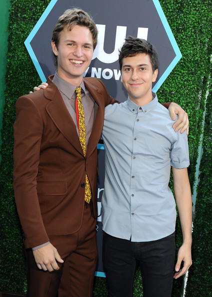 Photo of Nat Wolff & his friend actor  Ansel Elgort -