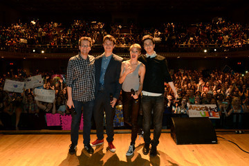 Nat Wolff Ansel Elgort 'The Fault in Our Stars' Fan Event in Nashville