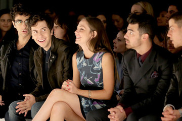 Nat Wolff Richard Chai LOVE & Men's - Front Row - Mercedes-Benz Fashion Week Spring 2015