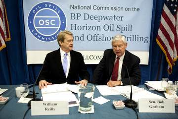 William Reilly Nat'l Commission On BP Oil Spill And Offshore Drilling Holds Meeting