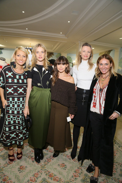 Buro 24/7 Family Presentation - Paris Fashion Week Womenswear Spring/Summer 2016 [event,fashion,dress,fashion design,delphine arnault,miroslava duma,asya mkhytaryan,natalia vodianova,family presentation,buro 24,l-r,hotel bristol,paris fashion week womenswear spring,kazakhstan]