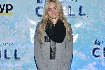 Natalie Alyn Lind The Queen Mary's CHILL Freezes Over SoCal