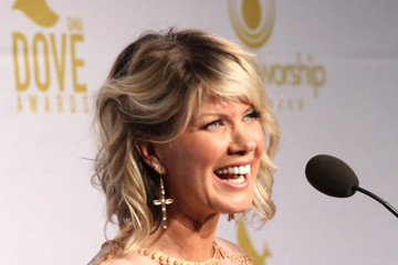 Natalie Grant 46th Annual GMA Dove Awards - Press Room