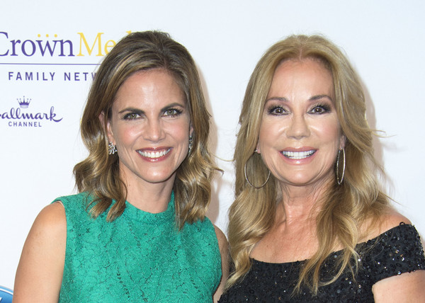 41st Annual Gracie Awards Gala - Arrivals [hair,face,blond,hairstyle,beauty,skin,smile,long hair,premiere,brown hair,arrivals,tv personalities,natalie morales,kathie lee gifford,valerie macon,beverly hills,l,afp,annual gracie awards gala,annual gracies awards gala]