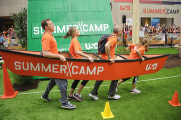 Natalie Morales Matt Lauer 'Summer Camp' Stars Compete on the 'Today' Show