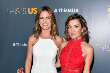 Natalie Morales Screening of NBC's 'This Is Us' Finale - Arrivals
