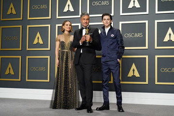 Natalie Portman Timothee Chalamet 92nd Annual Academy Awards - Press Room