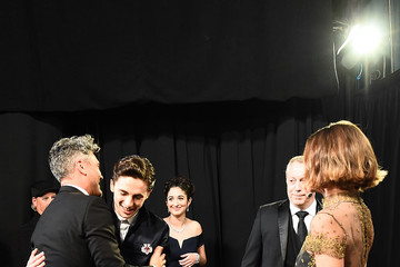 Natalie Portman Timothee Chalamet 92nd Annual Academy Awards - Backstage