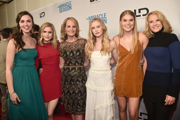 Natalie Sharp Premiere Of Mirror And LD Entertainment's 'The Miracle Season' - Red Carpet