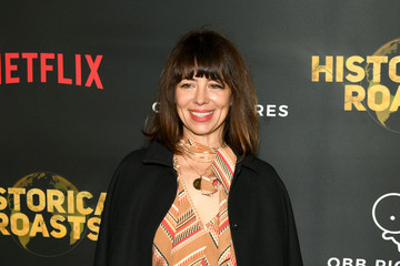 Natasha Leggero Premiere Party For The OBB Pictures And Netflix Original Series 'Historical Roasts' Featuring Jeff Ross