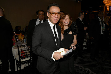 Natasha Lyonne Fred Armisen 77th Annual Golden Globe Awards - Cocktail Reception