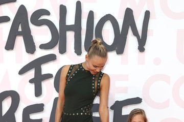 Natasha Poly Red Carpet Arrivals - Fashion For Relief Cannes 2018