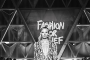 Natasha Poly Fashion for Relief - Runway - The 70th Annual Cannes Film Festival