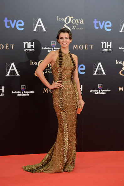 Natasha Yarovenko - Goya Cinema Awards 2013 - Red Carpet