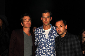 Nate Ruess Charlotte Ronson - Front Row - Mercedes-Benz Fashion Week Spring 2015