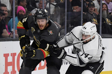 Nate Thompson Los Angeles Kings v Vegas Golden Knights - Game One