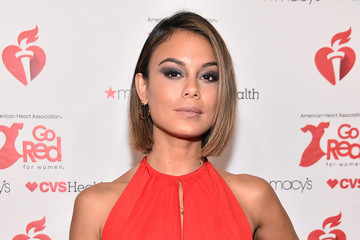 Nathalie Kelley The American Heart Association's Go Red For Women Red Dress Collection 2019 Presented By Macy's - Arrivals & Front Row