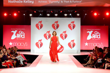 Nathalie Kelley The American Heart Association's Go Red For Women Red Dress Collection 2019 Presented By Macy's - Runway