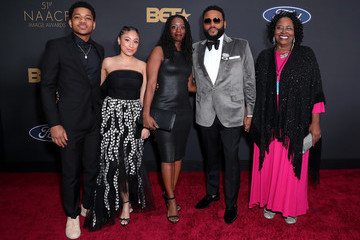 Nathan Anderson Kyra Anderson BET Presents The 51st NAACP Image Awards - Red Carpet