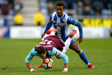 Nathan Byrne Wigan Athletic v West Ham United - The Emirates FA Cup Fourth Round