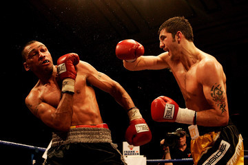Courtney Fry Nathan Cleverly v Courtney Fry - British & Commonwealth light-heavyweight