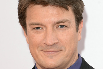 Nathan Fillion Arrivals at the American Music Awards — Part 3