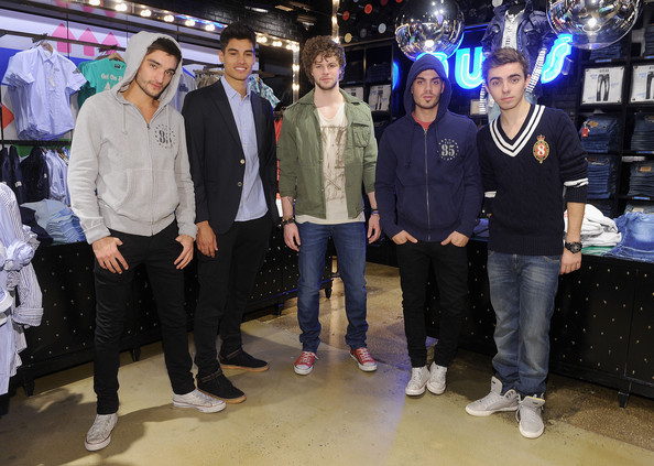aff99ff48b8f Nathan Sykes Photos Photos - The Wanted Shop Tommy Hilfiger s 5th ...