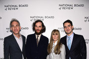Ronald Bronstein, Josh Safdie, National Board of Review President Annie Schulhof, and Benny Safdie attend The National Board of Review Annual Awards Gala at Cipriani 42nd Street on January 08, 2020 in New York City.