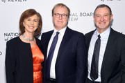 Nicole Grindle, Brad Bird and John Walker attend The National Board of Review Annual Awards Gala at Cipriani 42nd Street on January 8, 2019 in New York City.