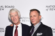 Roger Deakins and Daniel Craig attend The National Board of Review Annual Awards Gala at Cipriani 42nd Street on January 08, 2020 in New York City.