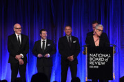 Jamie Lee Curtis accepts the award for Best Ensemble for Knives Out onstage during The National Board of Review Annual Awards Gala at Cipriani 42nd Street on January 08, 2020 in New York City.
