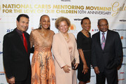 "(L-R) Khephra Burns,  Founder of the National CARES Mentoring Movement Susan L. Taylor, CEO of BET Debra Lee, C. Sylvia Brown and Eddie C. Brown attend ""For the Love Of Our Children Gala"" hosted by the National CARES Mentoring Movement on January 25, 2016 in New York City."