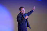 """Mike Birbiglia performs onstage at The National Resources Defense Council Presents """"Night of Comedy"""" Benefit Hosted by Seth Meyers on April 30, 2019 in New York City."""