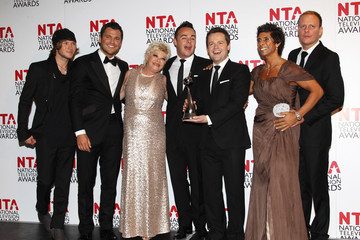 Fatima Whitbread National Television Awards 2012 - Winners Boards