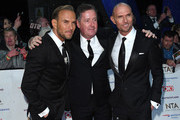 Matt Goss, Piers Morgan and Luke Goss attend the National Television Awards held at the O2 Arena on January 22, 2019 in London, England.
