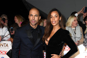 Marvin Humes and Rochelle Humes attends the National Television Awards 2020 at The O2 Arena on January 28, 2020 in London, England.