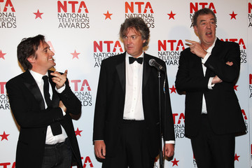 Jeremy Clarkson James May National Television Awards - Winners Boards
