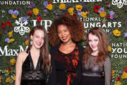 Amanda Krische, Jaz Sinclair, and Nadia Alexander attend National YoungArts Foundation Backyard Ball Performance and Gala 2018 on January 13, 2018 in Miami, Florida.