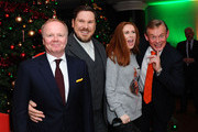 """Jason Watkins, Marc Wooton, Catherine Tate and Martin Clunes attends the UK Premiere of """"Nativity 3: Dude Where's My Donkey?"""" at Vue West End on November 2, 2014 in London, England."""
