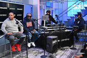 Rap group Naughty By Nature perform On LL Cool J's Rock The Bells Radio On SiriusXM on November 22, 2019 in New York City.