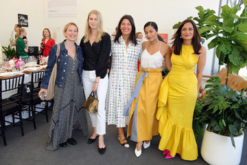 Nausheen Shah Saks Fifth Avenue And Rosie Assoulin Luncheon At Frieze New York