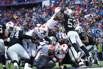 Navorro Bowman Oakland Raiders v Buffalo Bills