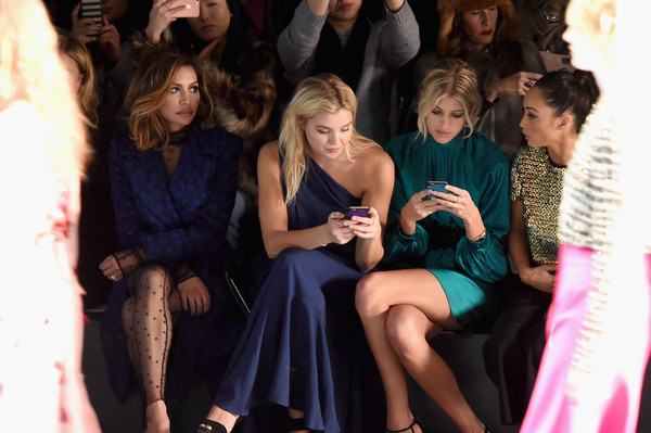 Monique Lhuillier - Front Row - Fall 2016 New York Fashion Week: The Shows