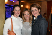 Susanne Schellong, Nina Gnaedig and Lara Joy Koerner during the NdF after work press cocktail at Parkcafe on March 15, 2017 in Munich, Germany.