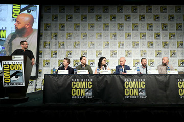 Neal McDonough Laura Mennell HISTORY's 'Project Blue Book' SDCC Panel 2019