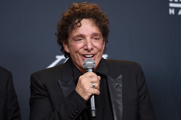 Neal Schon 32nd Annual Rock & Roll Hall Of Fame Induction Ceremony - Press Room