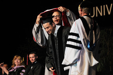 Neal Smatresk Jimmy Kimmel Receives Honorary Degree From UNLV