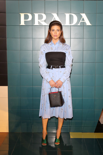 Prada Spring/Summer 2020 Womenswear Fashion Show - Arrivals And Front Row