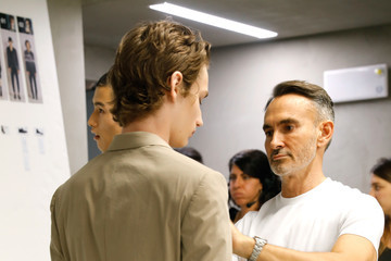 Neil Barrett Neil Barrett - Backstage - Milan Men's Fashion Week Spring/Summer 2018