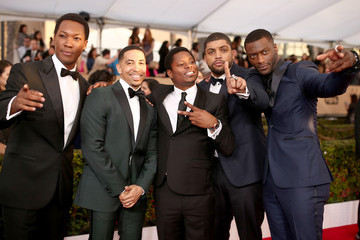 Neil Brown Jr. Aldis Hodge The 22nd Annual Screen Actors Guild Awards - Red Carpet